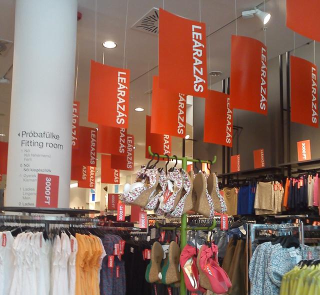 H&M: sehol egy százalék, csak a kerek ezresek mindenhol