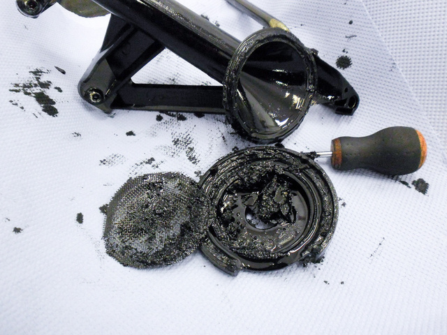 A javítás egyik legkisebb költsége ez a búvárcső 40 ezer forintért