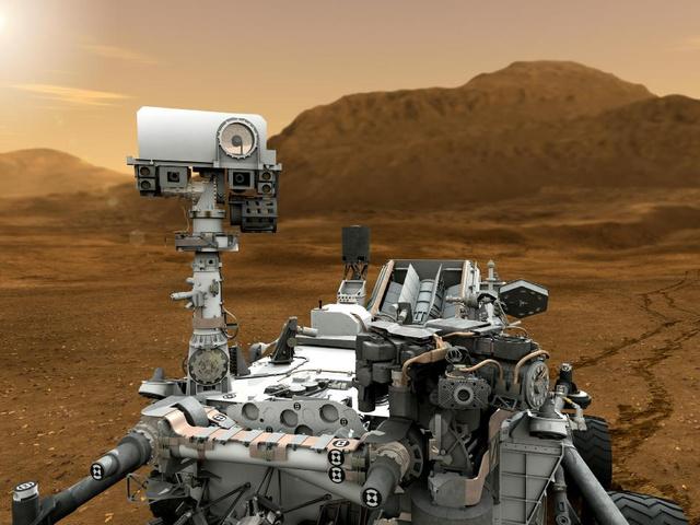 A Curiosity nyomokat hagy majd a Mars felszínén