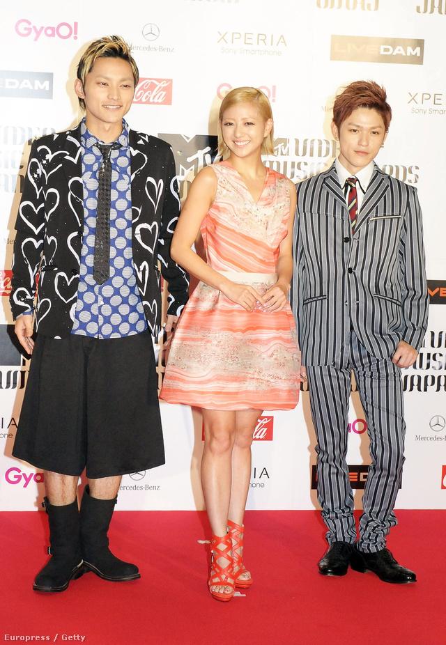 AAA ,azaz az Attack All Around elnevezésű japán pop banda