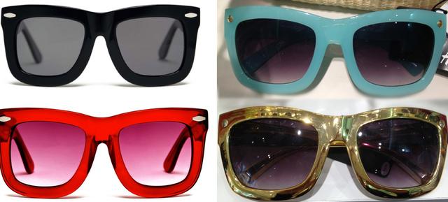 Balra a Grey Ant, jobbra a H&M szemüvegei