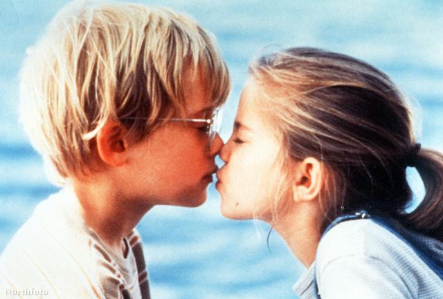 Macaulay Culkin csókja a My Girlben