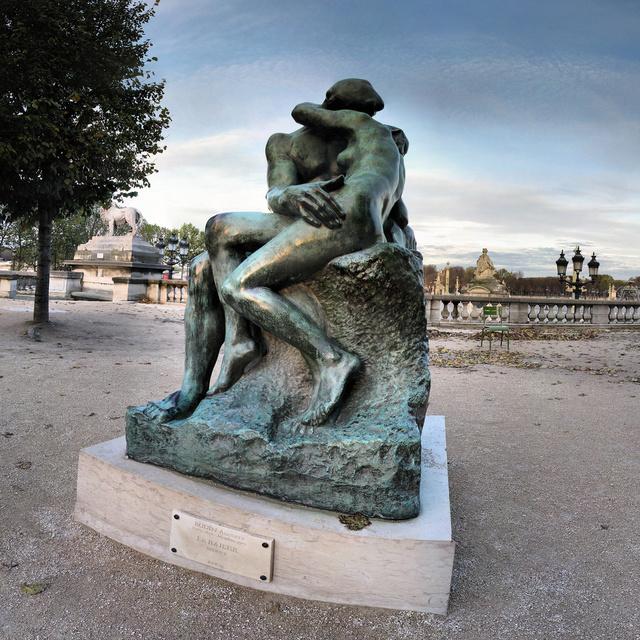 Rodin szobra: A csók