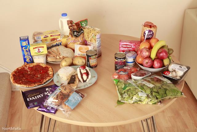 Az asztal bal oldalán lévő ételeket egy az egyben kihagyhatjuk az étrendünkből.