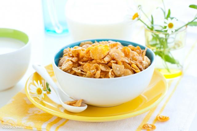stockfresh 297748 corn-flakes-and-milk sizeS