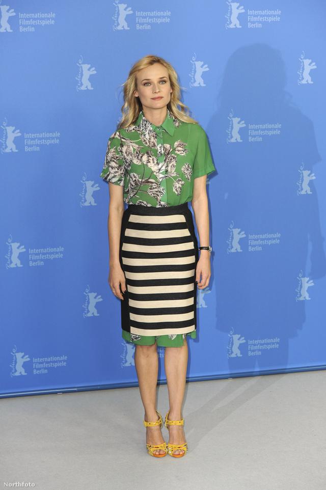 Diane Kruger a 62. Berlini Filmfesztiválon.