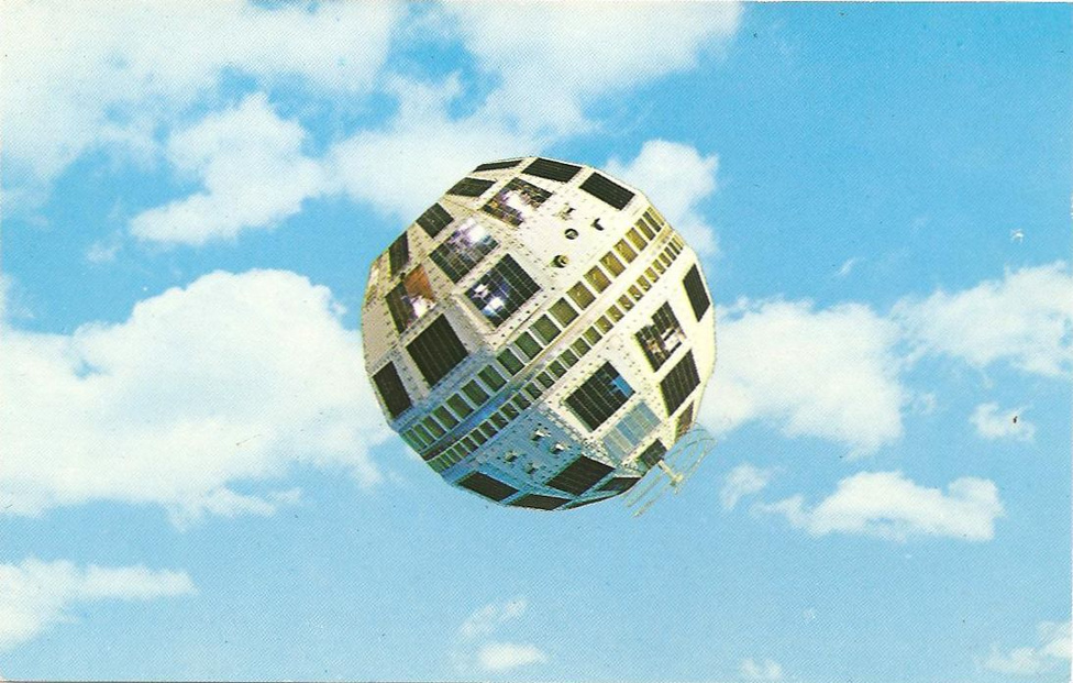 UnitedStates postcard year-unknown Telstar