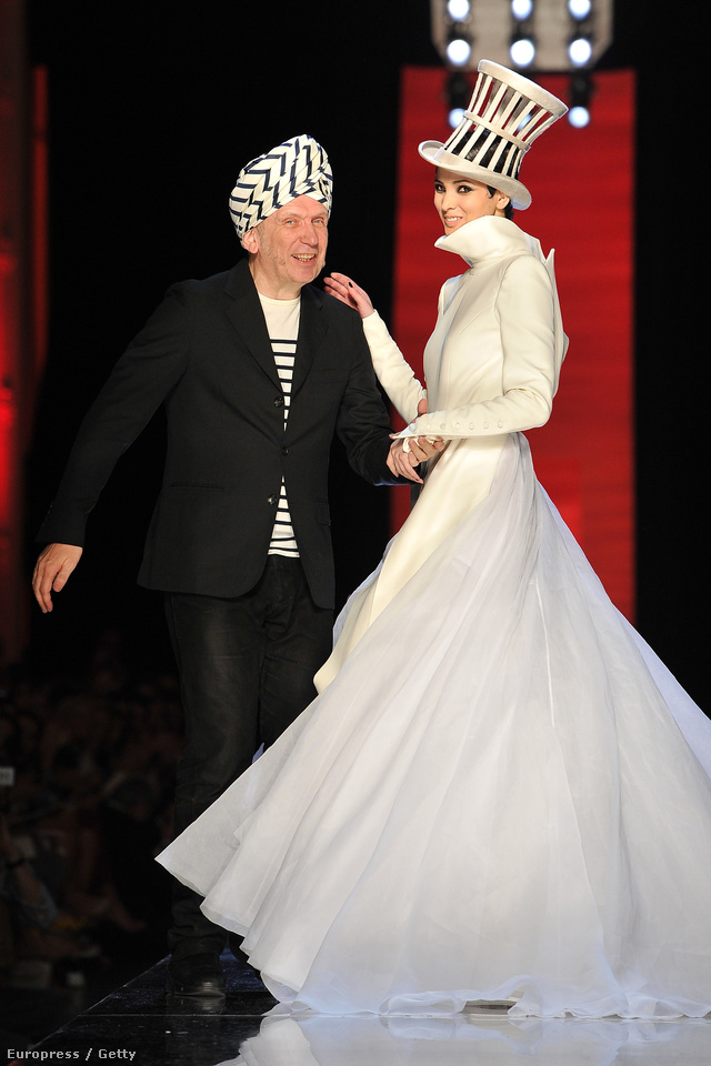 Jean Paul Gaultier az haute couture shown