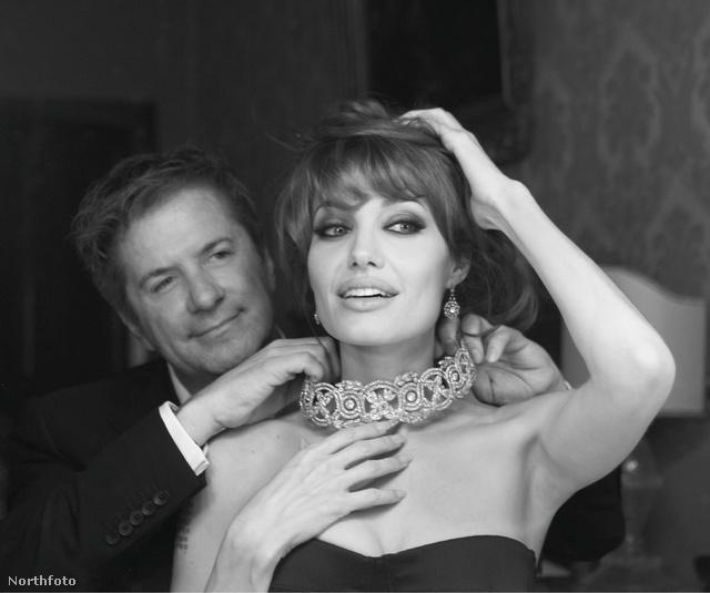 Robert Procop és Angelina Jolie