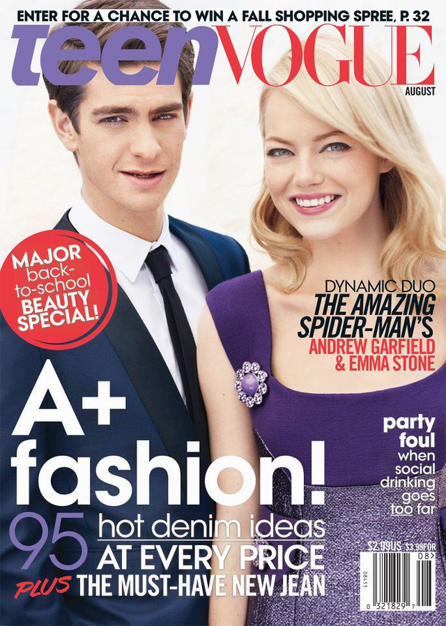 Lennox TeenVogue August 2012 Cover