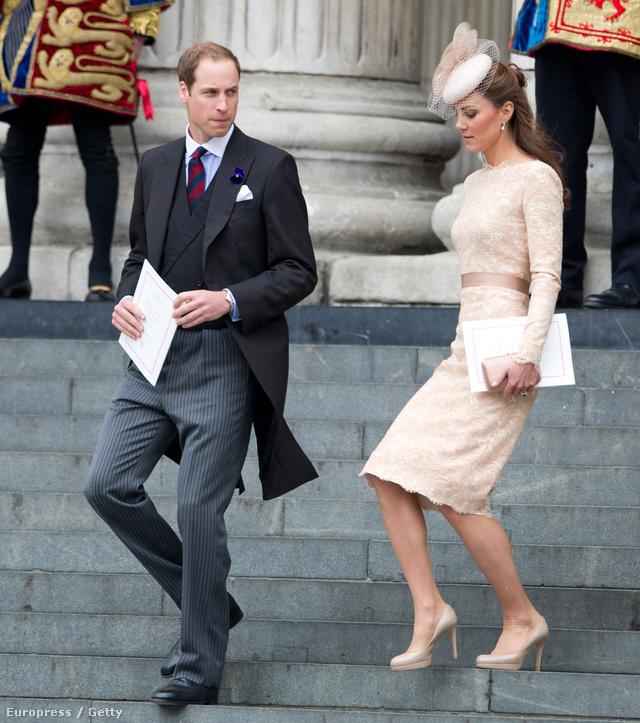 Kate Middleton és férje