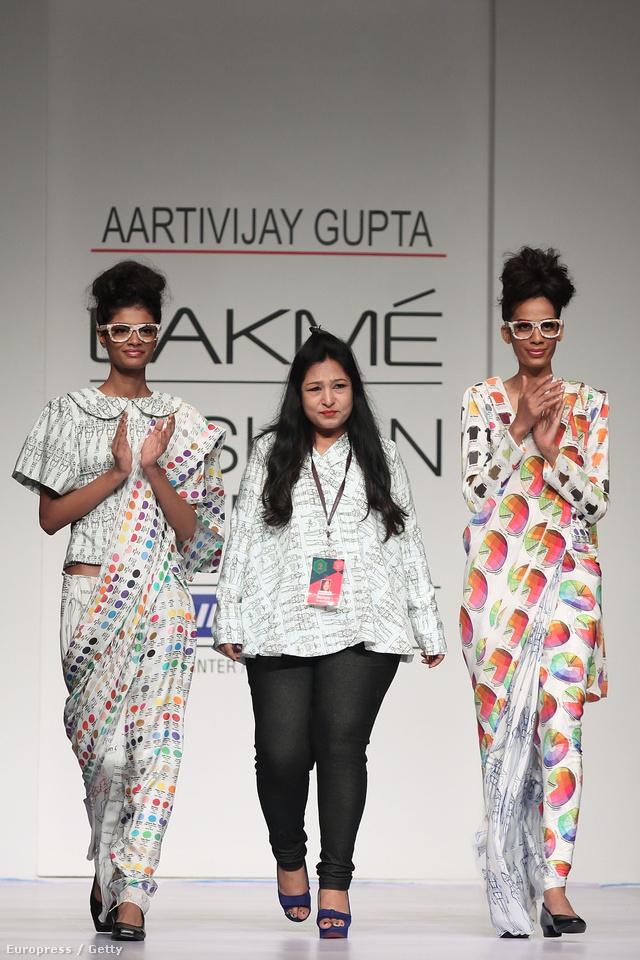 Aarti Vijay Gupta és modelljei