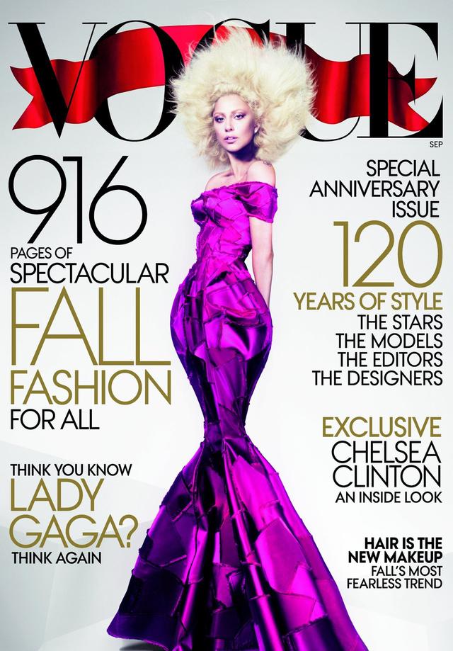 Lady Gaga az év legfontosabb magazinjának borítóján