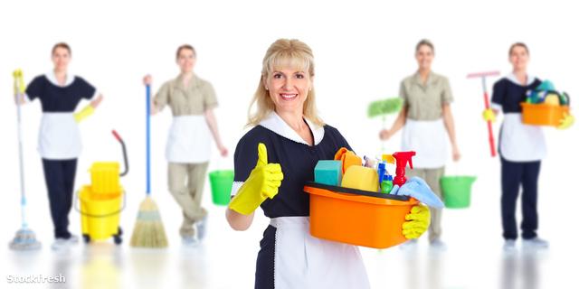 stockfresh 1355497 cleaner-maid-woman sizeM