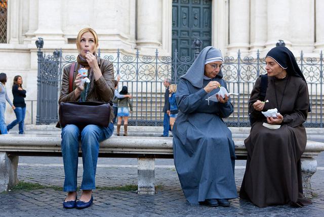 Julia Roberts az Ízek, imák, szerelmekben