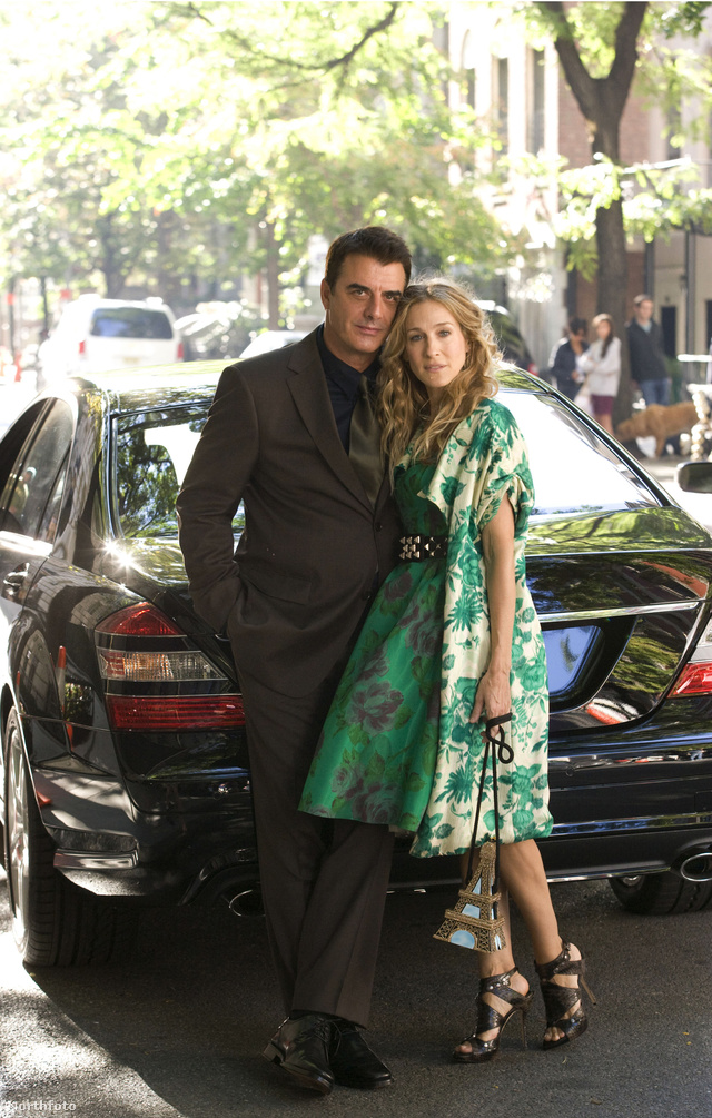Carrie Bradshaw és Mr.Big.