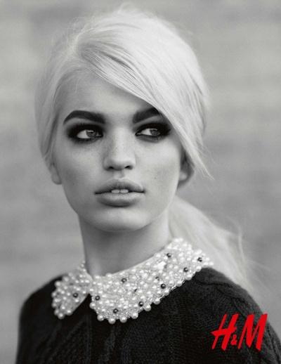 A holland modell a svéd márka kampányában