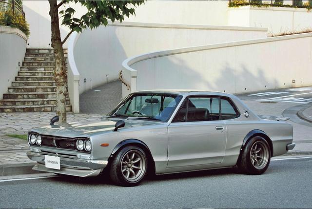 Nissan Skyline GT-R, a legendás Hakosuka. Átkozottul dögös és egyre drágább