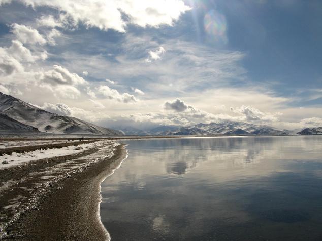 Pamír fennsík: Karakul tó