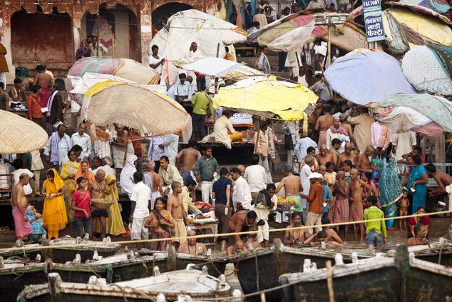 Gangesz-parti hétköznapok