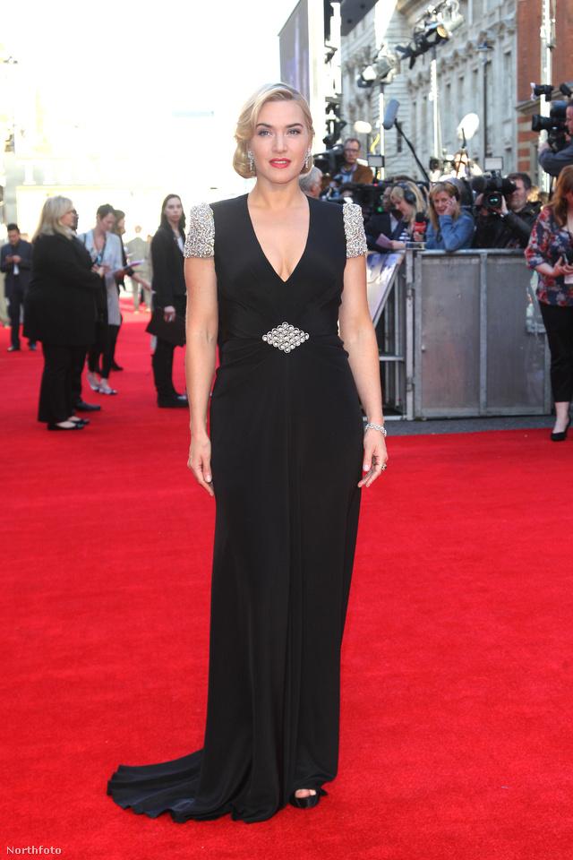 A kontyosok: Kate Winslet (Titanic 3D filmbemutató, 2012)