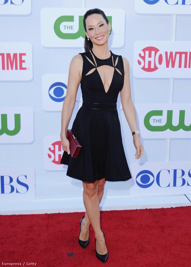 Nem kell a nagyestélyi: Lucy Liu (The CW TCA Summer Party, 2012)