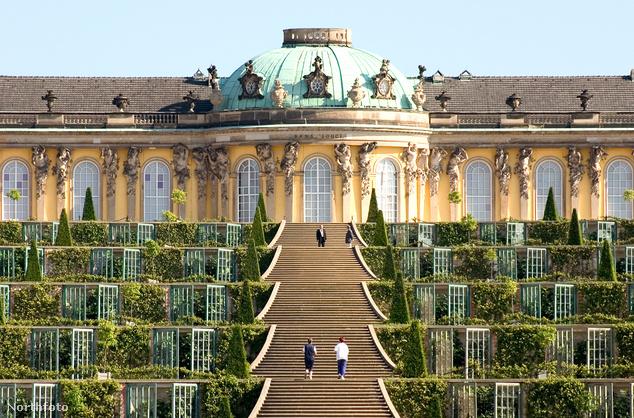 Sanssouci kastély, Potsdam