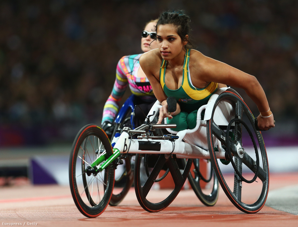 Madison De Rozario Ausztráliából.