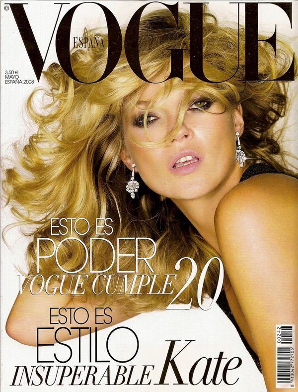 Nick Knight Vogue címlapja Kate Moss-al.