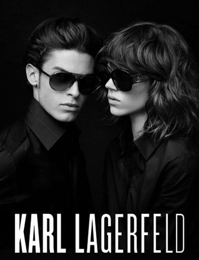 Karl Lagerfeld kampányképe Freja Beha Erichsenről és múzsájáról