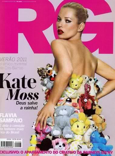 Kate Moss Emma Summerton címlap fotóján.