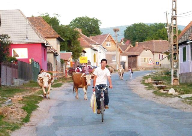 Átlagos román falu