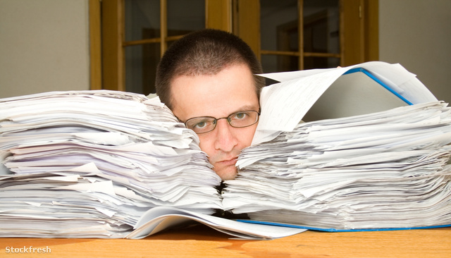 stockfresh 1495458 too-much-paperwork sizeM