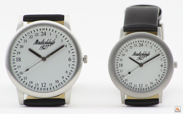 Nordschleife 1927 24h and 24h XL watches white 1