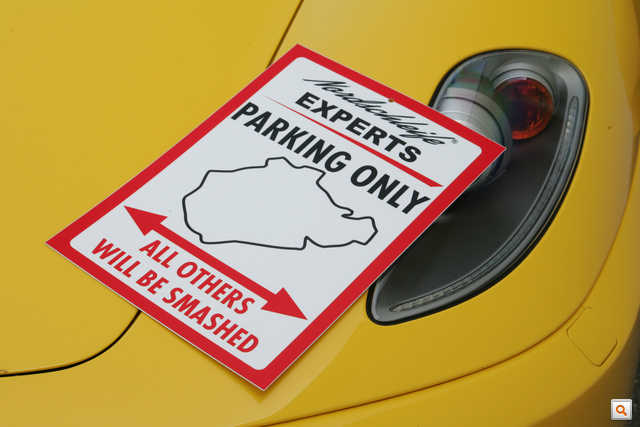 Nordschleife Parking Sign 1