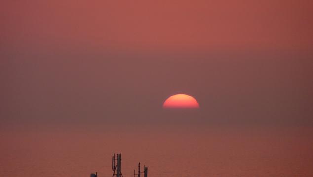 Privát, portuál naplemente