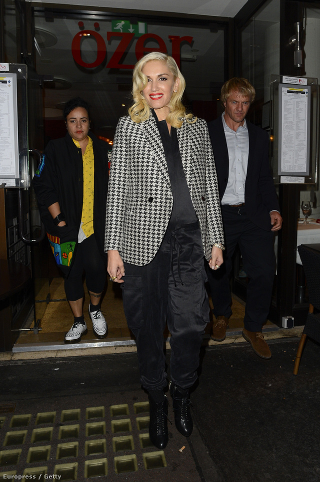 Gwen Stefani zakóban