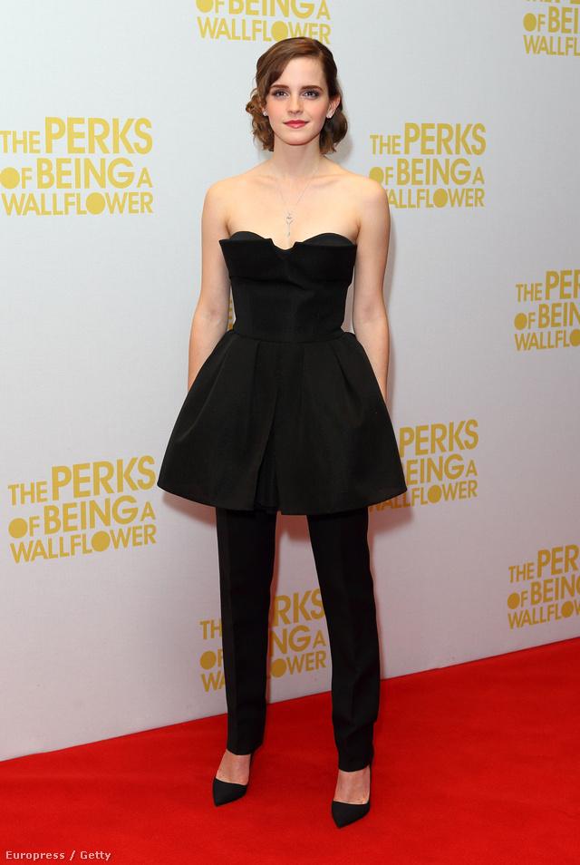 Emma Watson Londonban.