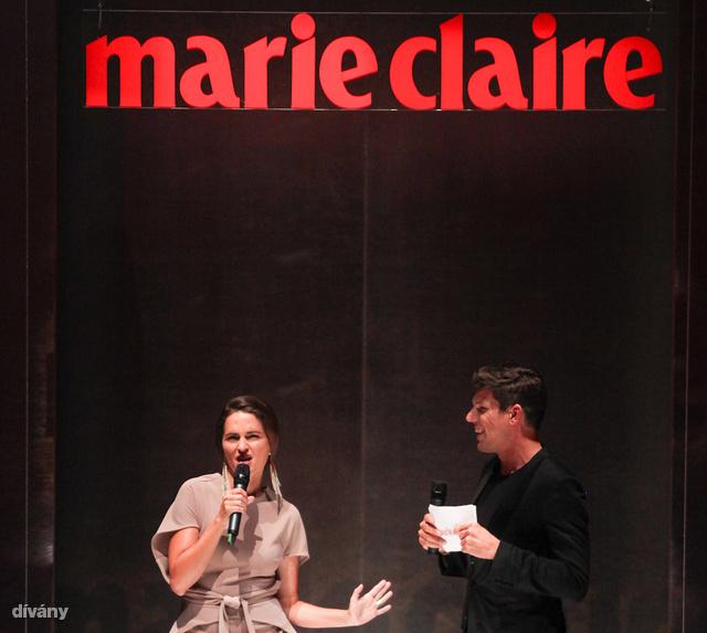 A műsort Szűcs Péter és Marozsán Erika vezették, aki egyenesen New Yorkból érkezett