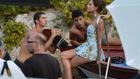 Kemény meló a Dolce & Gabbana kampányfotózása