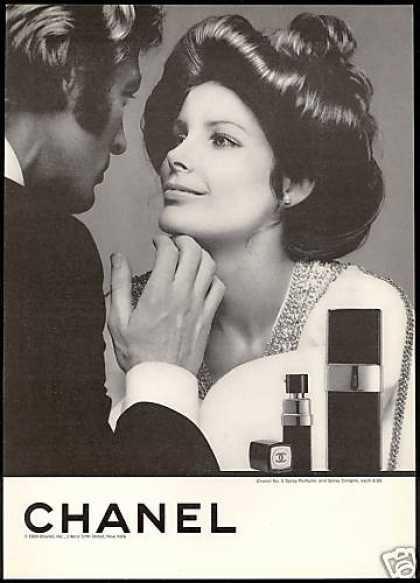 Chanel reklám a hetvenes évekből