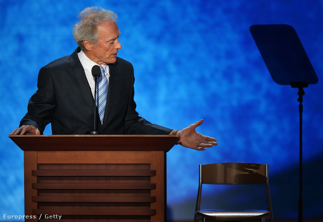 Clint Eastwood Obamával beszélgetett egy republikánus kongresszuson