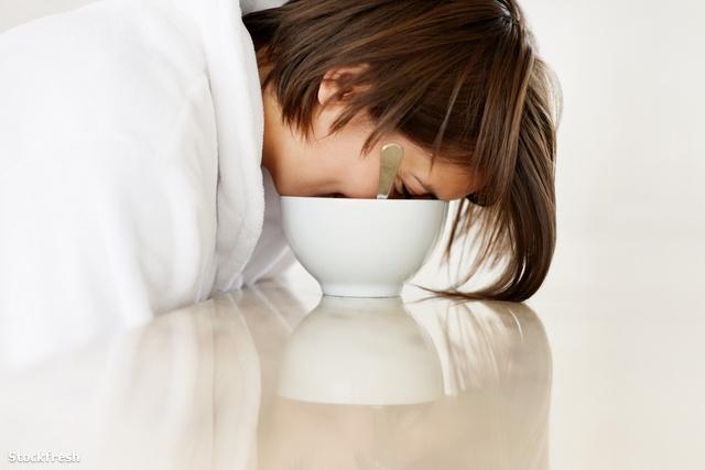 stockfresh 109424 lazy-female-fallen-asleep-in-the-breakfast-bow