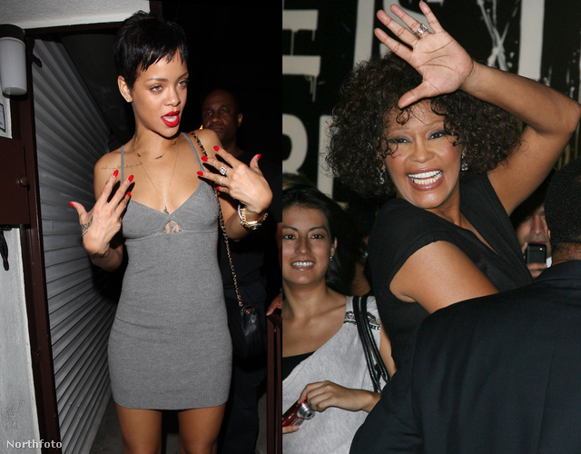 Rihanna és Whitney Houston