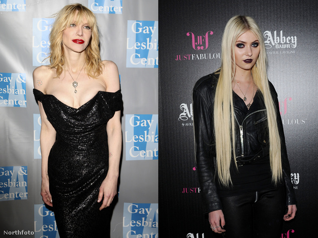 Courtney Love és Taylor Momsen