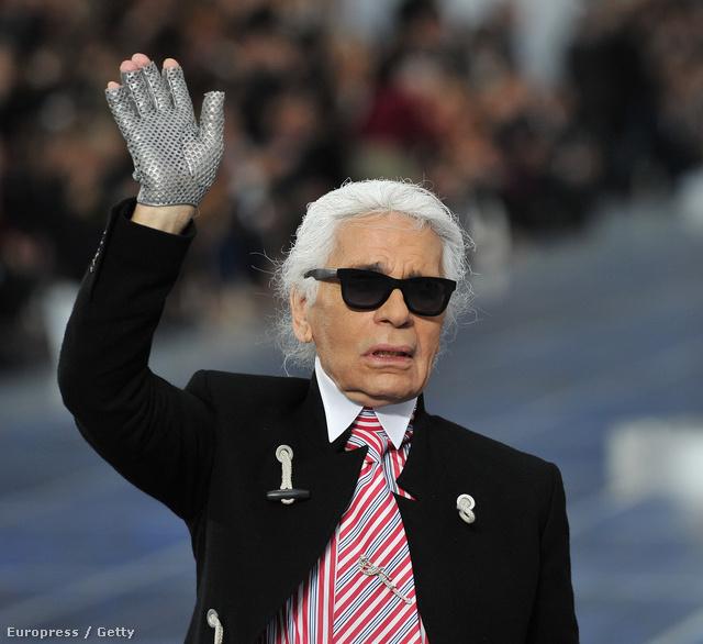 Karl Lagerfeld, a divatház lelke