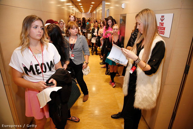 A Teen Vogue által szervezett Divat Egyetem.
