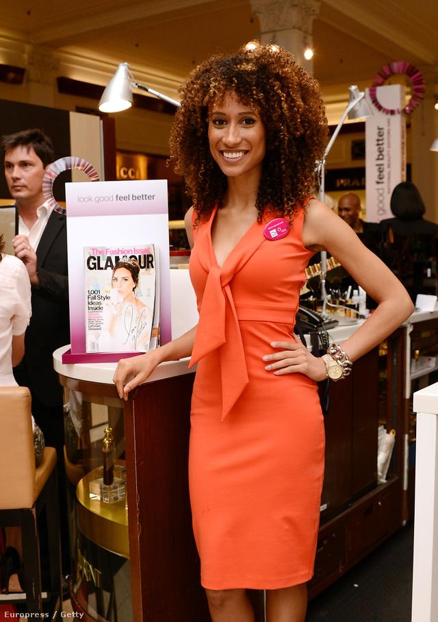 Elaine Welteroth a Glamour szépség szerkesztője