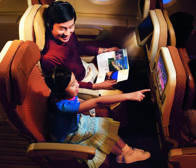 Singapore Airlines turistaosztály