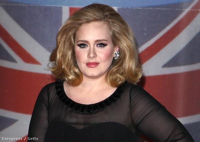 Adele és a focistafeleség az ötödik helyen végeztek